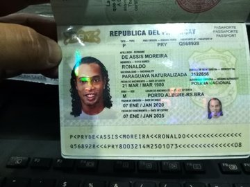 Ronaldinho Arrested In Paraguay With Fake Passport