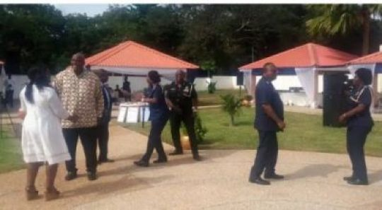 Coronavirus: Pastor Arrested While Holding Church Service In Ghana (Video)