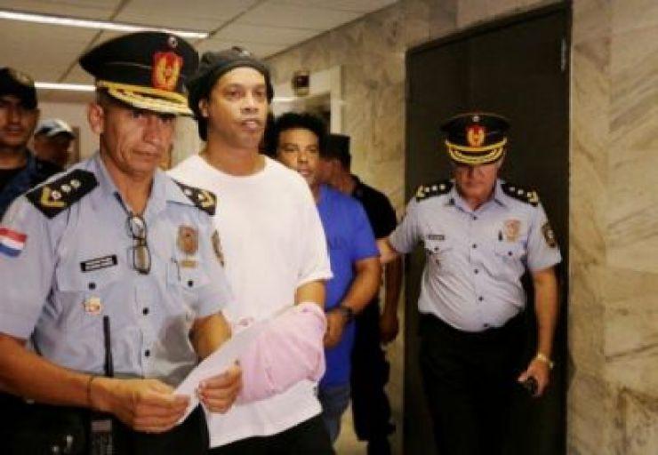 Ronaldinho arrested