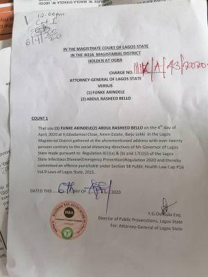 Funke Akindele, JJSkillz Plead Guilty To Social Distancing Violation