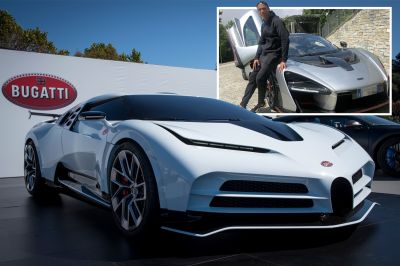 Cristiano Ronaldo Buys Bugatti Centodieci