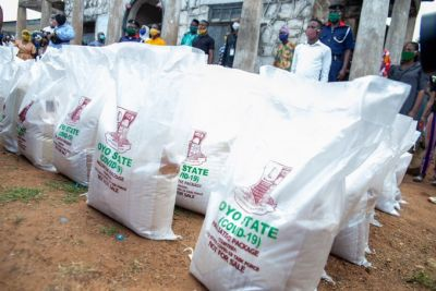 food distribution in Oyo state