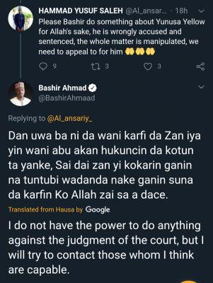 Bashir Ahmed To Plea For Ese Oruru's Abductor, Yunusa Dahiru