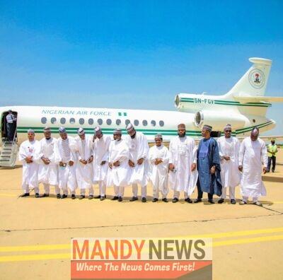 Wedding Photos Of Bashir Ahmad With Presidential Jet