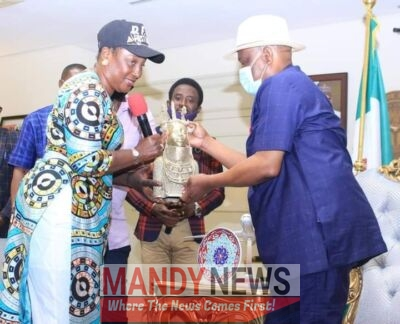 Edo Election: Obaseki Visits Wike, Here's Their Heartfelt Message