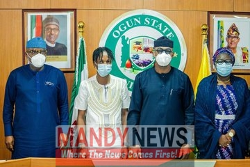 Laycon Becomes The Youth Ambassador of Ogun State (Photos)