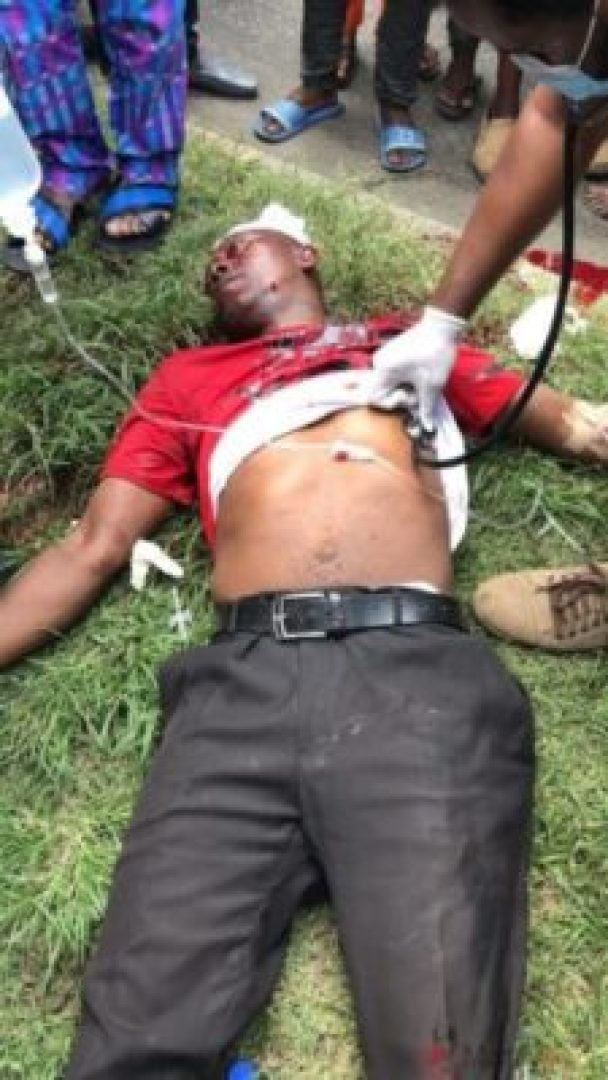End SARS Protester Shot And Killed By Police In Surulere (Photo)