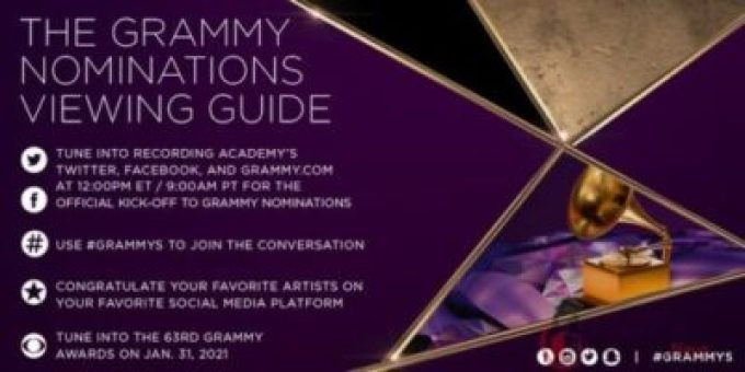 When Is 63rd GRAMMY Awards? Date, Start time, Nominations List And Live Stream