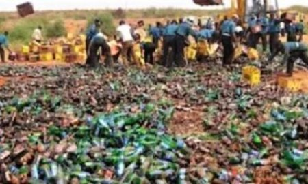 Nigeria's Kano Sharia Police Destroys Over N200m Worth Of Beer, Says Forbidden In Islam