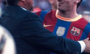 Watch The Moment Messi Voted For Laporta At Camp Nou