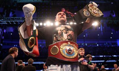 Oleksandr Usyk Defeats Anthony Joshua To Become The World Heavyweight Champion