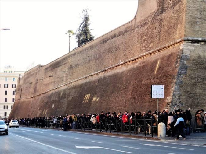 Vatikanmuseum ohne anstehen
