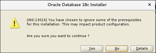 Oracle 18c – Install binaries on Oracle Linux 7 – MANDY