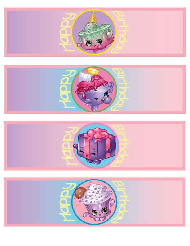 photo about Free Printable Shopkins Food Labels titled Shopkins printables Archives