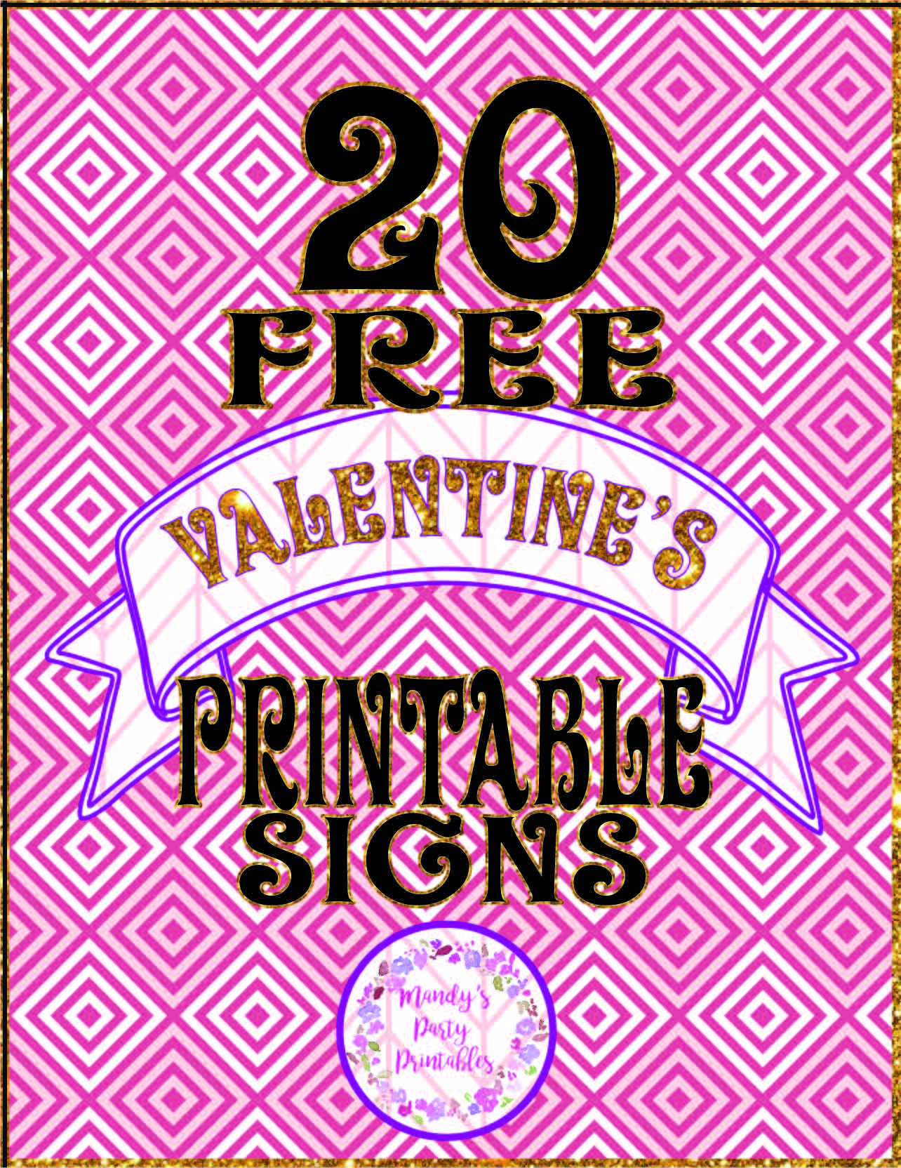 photo about Printable Valentine referred to as 20 Free of charge Printable Valentine Signs and symptoms