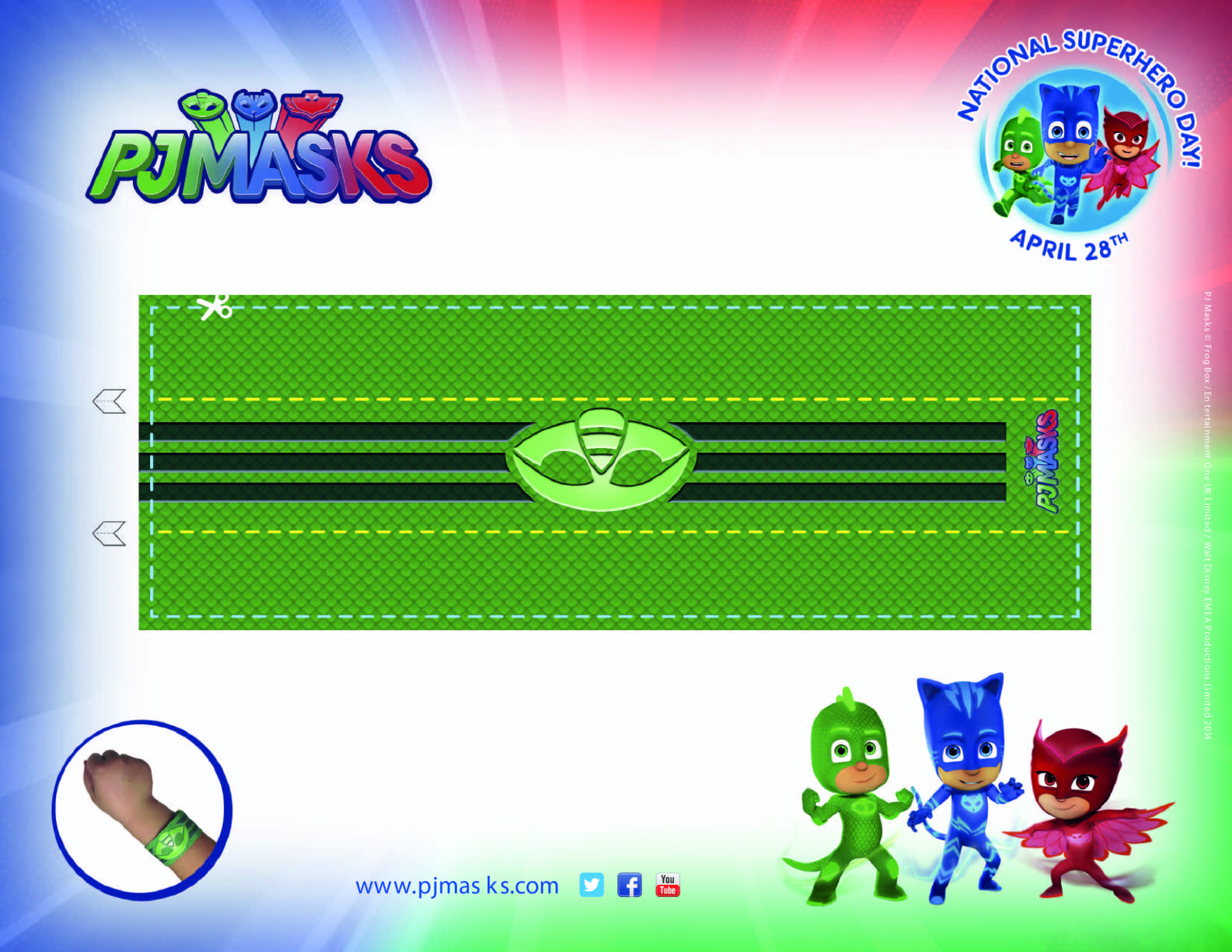 PJ Masks Party Printables Gekko Amulet For FREE Via Mandys