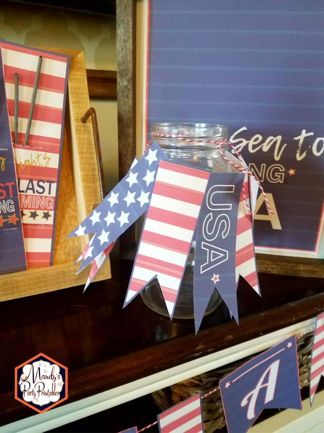 Free 4th of July Printables via Mandy's Party Printables