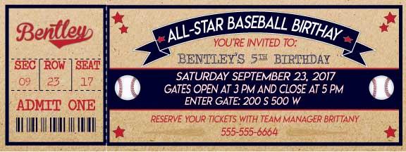 graphic about Free Printable Baseball Birthday Invitations named Absolutely free Baseball Social gathering Printables