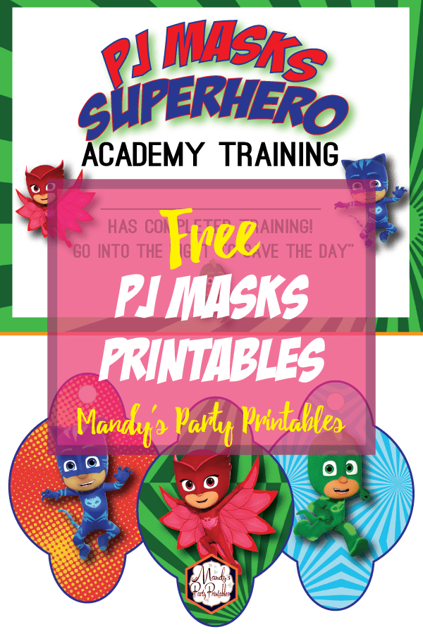 picture regarding Superhero Certificate Printable identify PJ Masks Working out Certification and Straw Tags