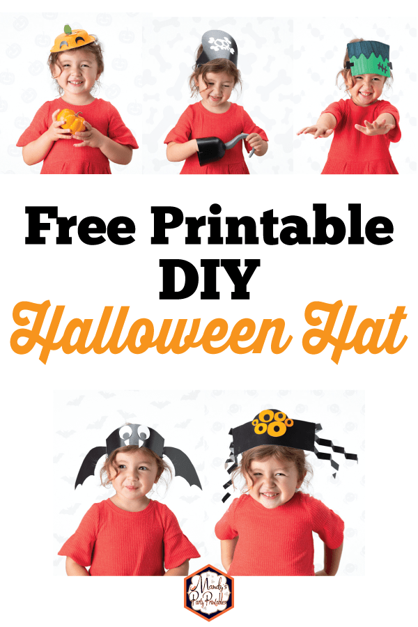 picture about Printable Hats referred to as Do-it-yourself Halloween Hats with Absolutely free Printables