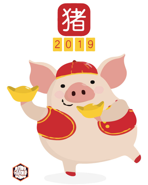 image about Vipkid Dino Printable identified as Totally free Printable VIPKID Chinese Fresh new Calendar year Indication