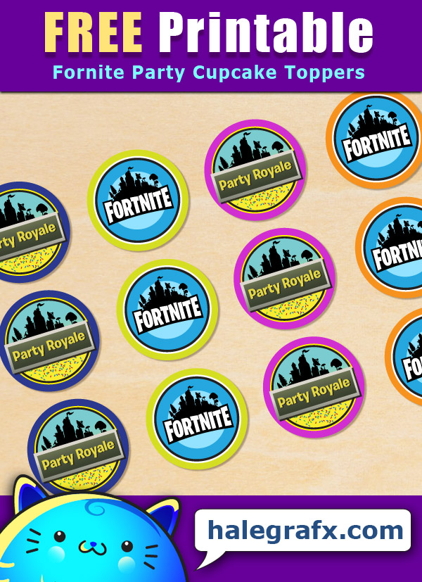 photo regarding Printable Fortnite identified as Further more Cost-free Fortnite Celebration Printables