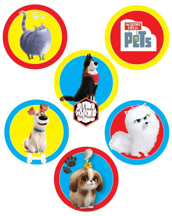 It's just a photo of Handy Secret Life of Pets Printables