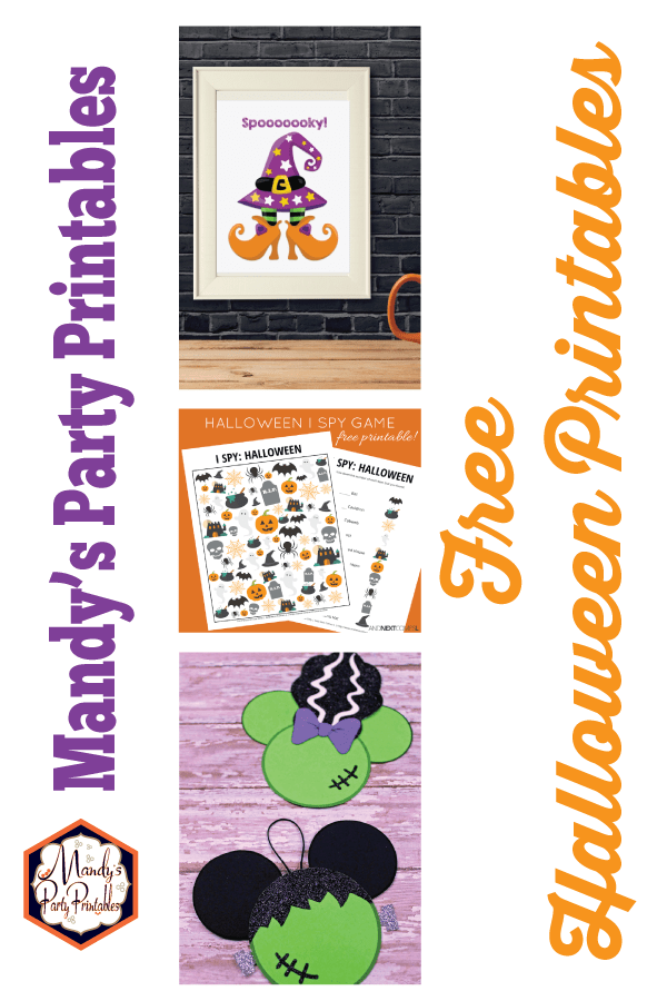 photograph about Halloween Printable called Great No cost Halloween Printables