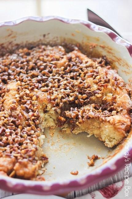 Caramel Pecan Coffee Cake