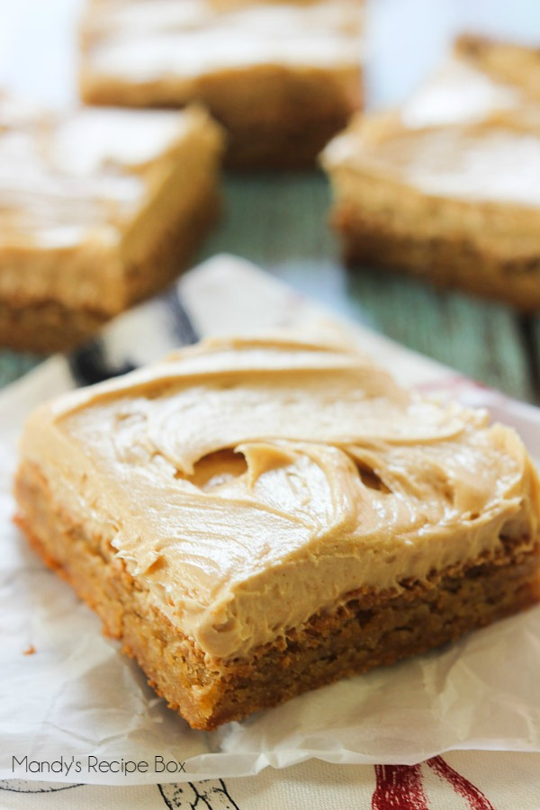 Peanut Butter Brownies by Mandy's Recipe Box