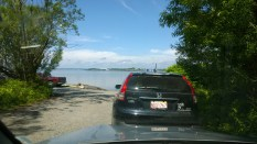 Waiting for the Deer Island Ferry