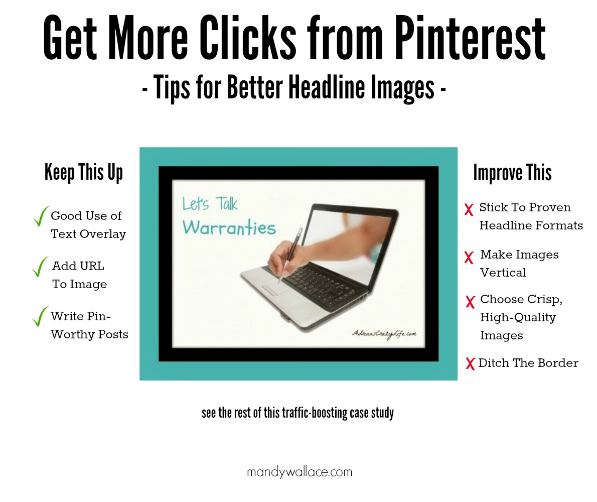 Get More Clicks from Pinterest Case Study