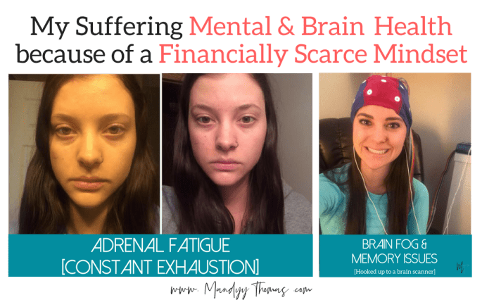 Struggling Mental Health and Anxiety due to Financially Scarce Mindset