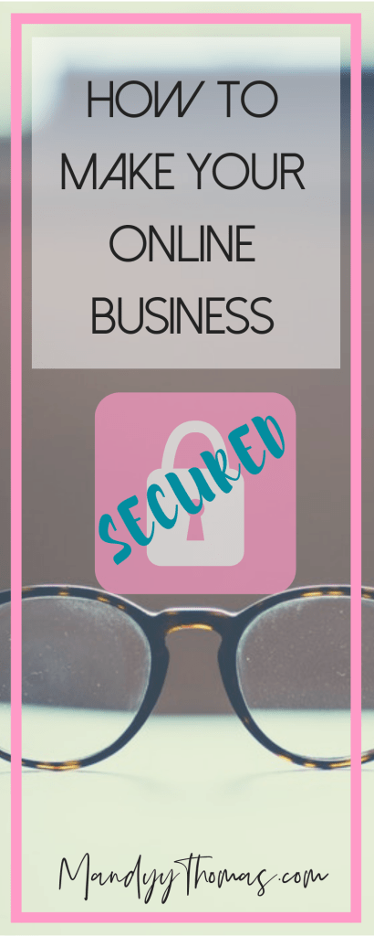 How to make your online business secured and cover yourself legally
