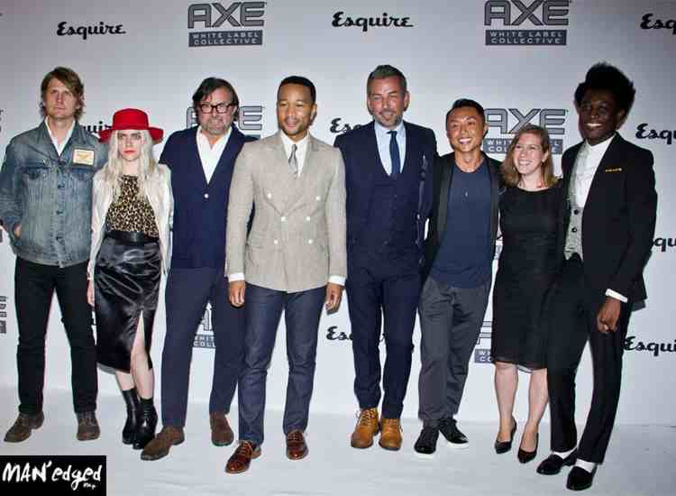 Axe Collective, Axe, Axe White Label, Axe White label Collective, John Legend, MAN'edged, MANedged.com, MAN'edged.com magazine, billy reid, nick sullivan, esquire, NYFW, New York Fashion Week, menswear, designer, men, fashion, style