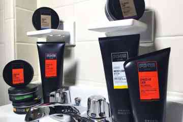 The new men's grooming products by Axe.
