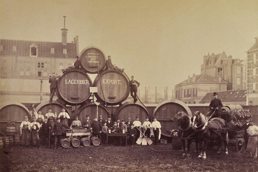 Vintage Heineken export photo Heineken Collection Foundation