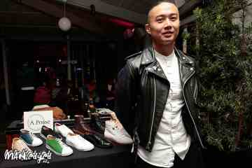 The cool new men's shoe designer steven sung of A.Posse