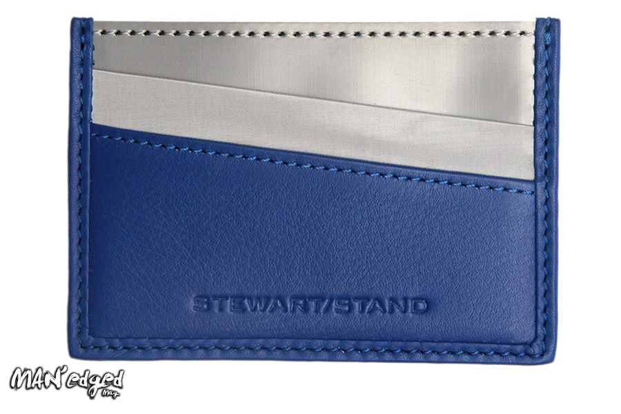 Editor's Pick featuring blue card case men's wallet by Stewart/Stand