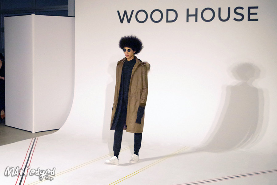 Woodhouse men's day fashion show during new york men's fashion week.