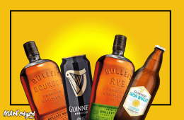 National Beer Day cocktail recipe featuring bulleit bourbon, bulleit rye, guinness draught, and Guinness Irish Wheat Beer
