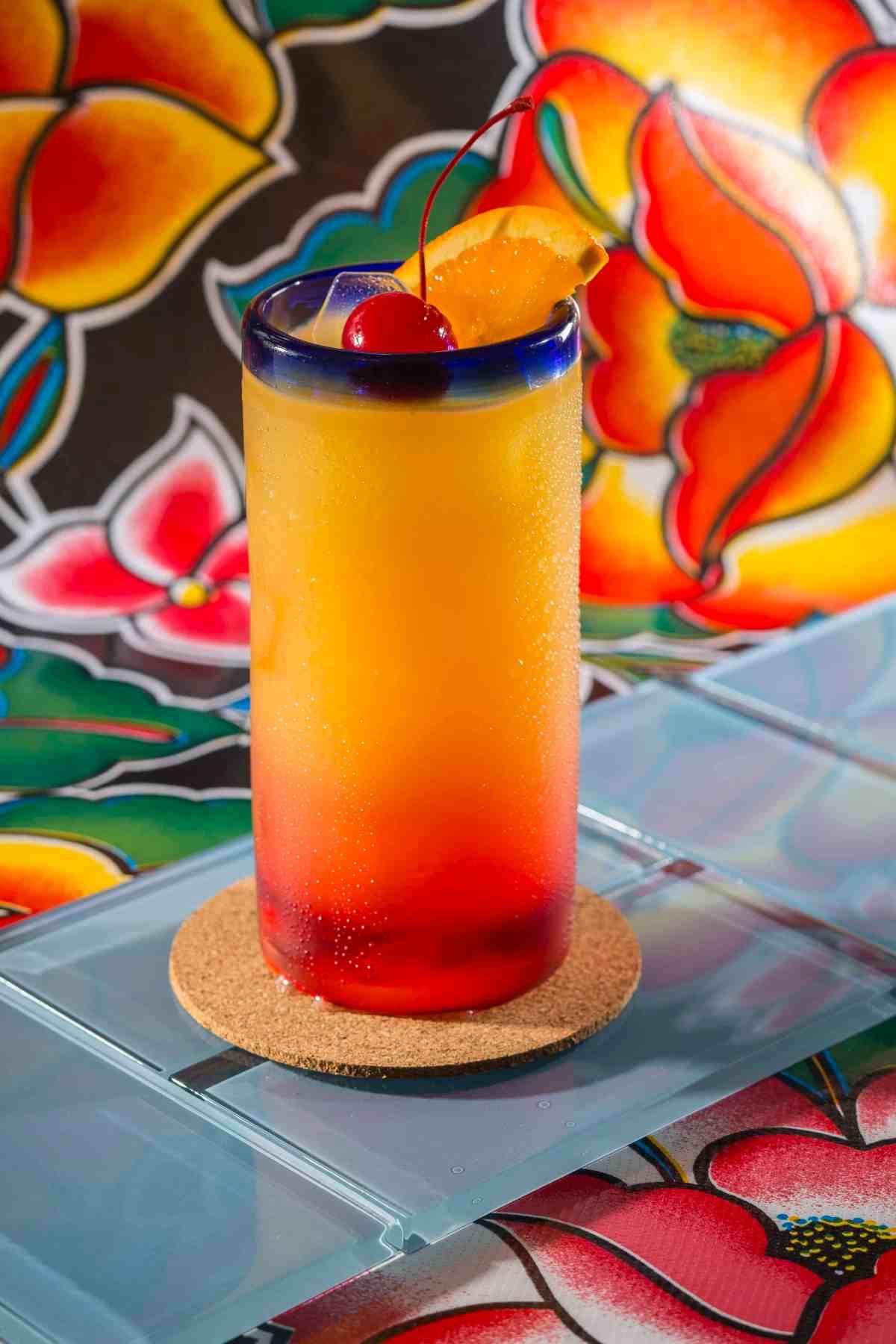 Tequila Sunrise Cocktail MAN'edged Magazine