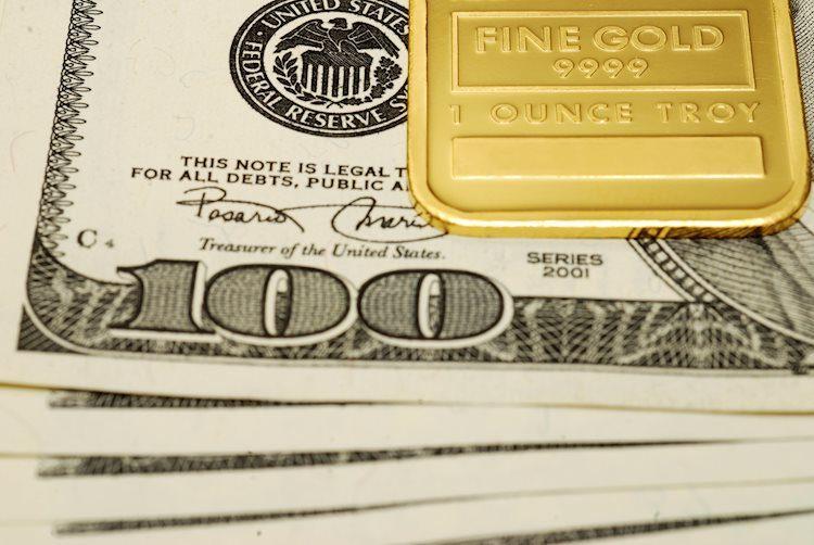 XAU / USD logra recuperar $ 1,900 después de una caída anterior