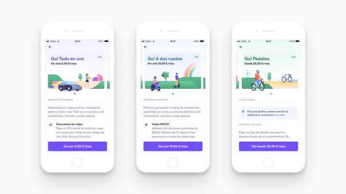 Cabify lanza 'Cabify Go!', Un servicio de suscripción multimodal – TechCrunch