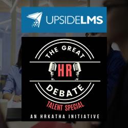 UpsideLMS se une a HR Katha para el especial de talentos 'The Great HR Debate'