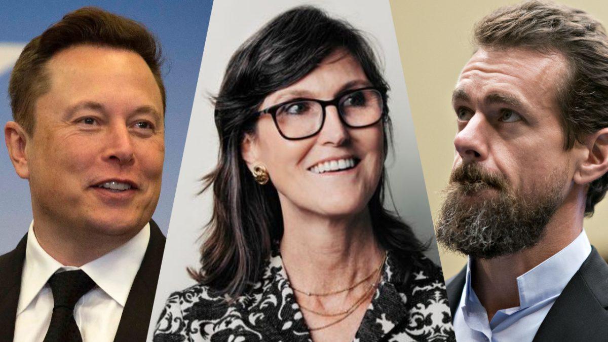 Elon Musk, Jack Dorsey y Cathie Wood hablarán sobre Bitcoin en vivo en el evento 'B Word'