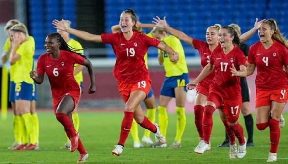 El final dorado del equipo femenino de fútbol de Canadá en Tokio 2020