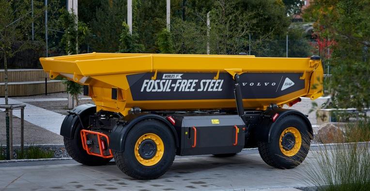 "Volvo Group presenta un vehículo fabricado con 3.000 kilogramos de acero ""libre de fósiles"" – TechCrunch"