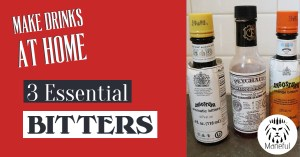 Title graphic - 3 essential bitters