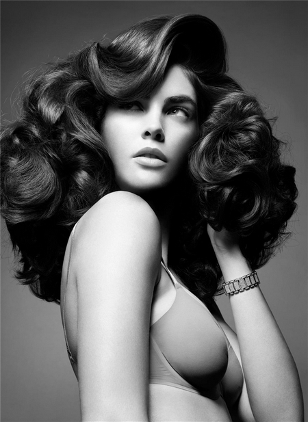big hair editorial